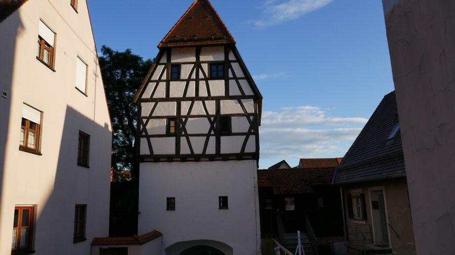 Tor an der Stadtmauer