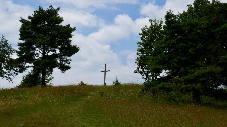 Gipfelkreuz am Bockberg
