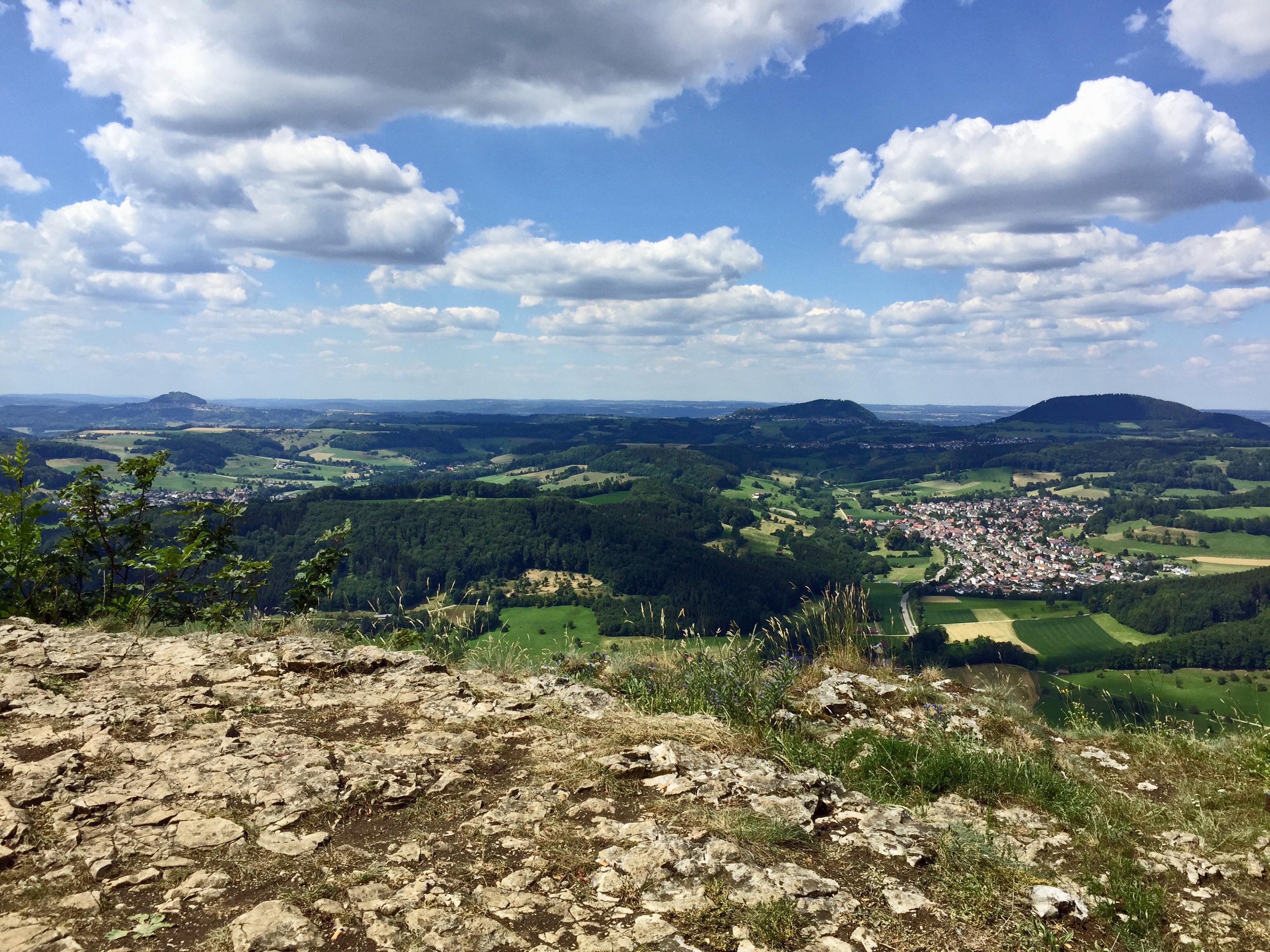 Blick auf die drei Kaiserberge