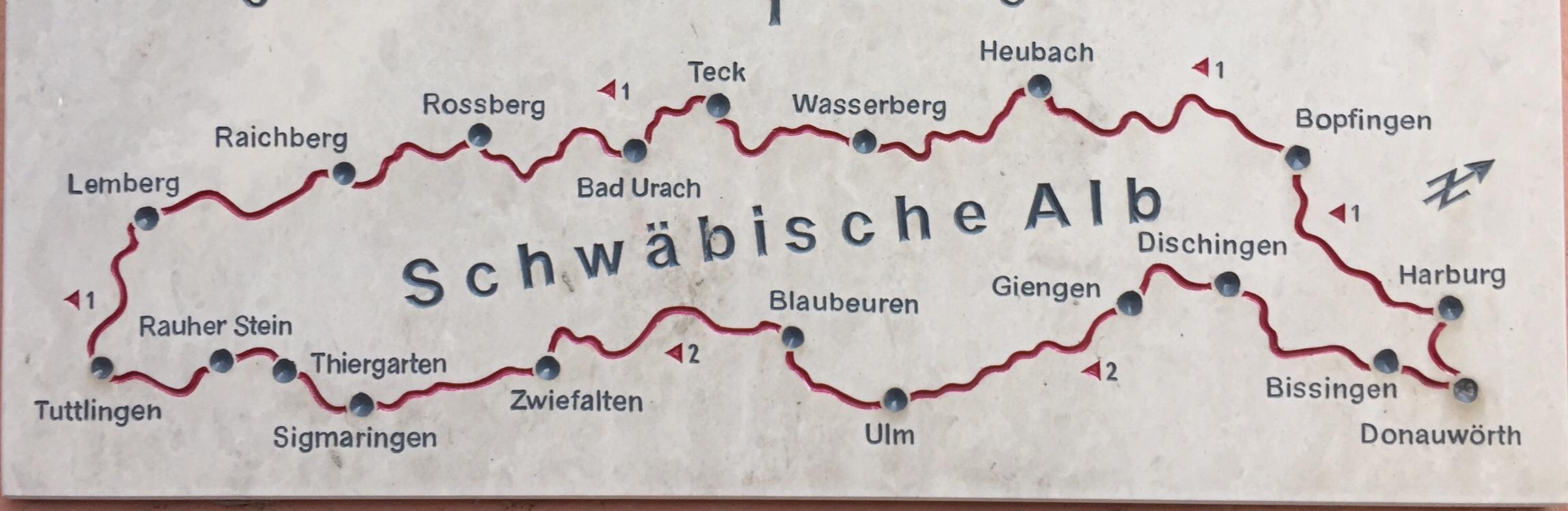 Fernwanderwege des Schwäbischen Albvereins