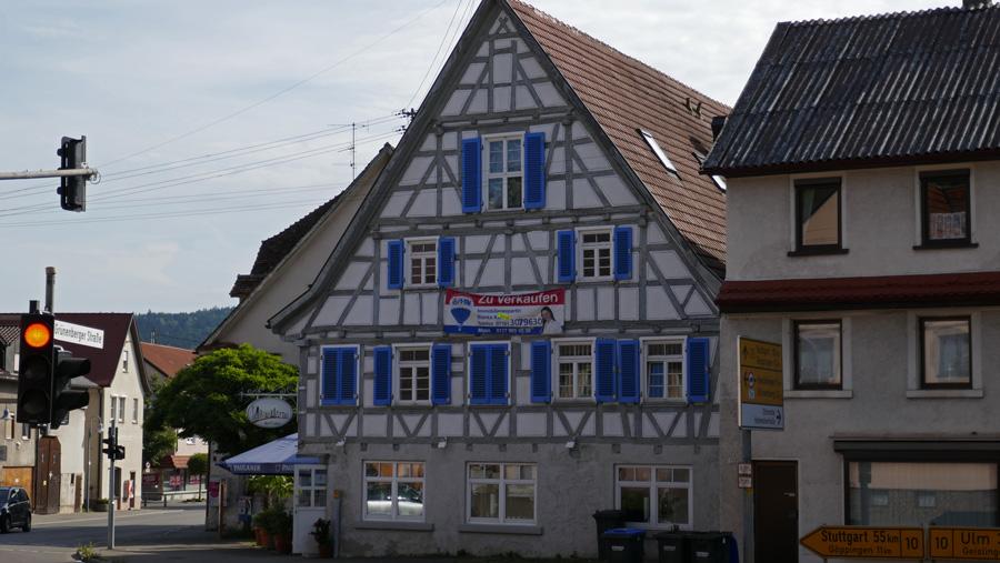 Fachwerkhaus in Gingen