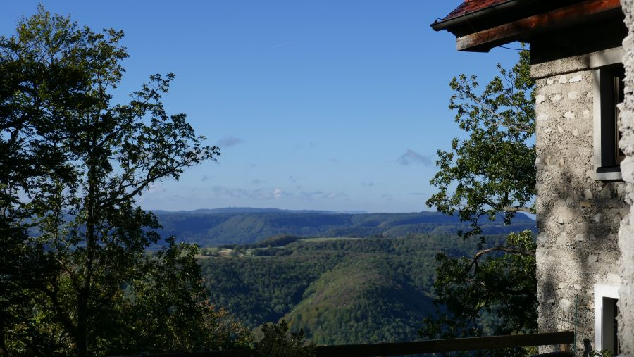 Blick vom Roßberg