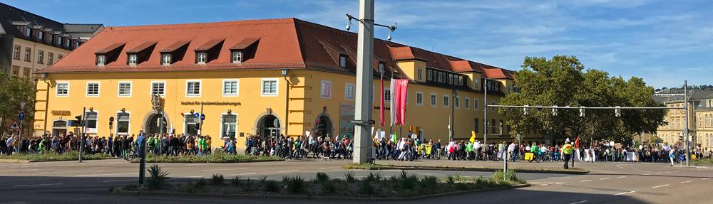 Der friedliche Marsch