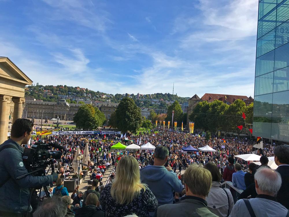 Klimstreik in Stuttgart